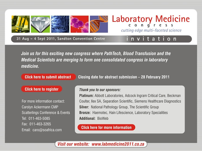 Laboratory medicine congress 2011
